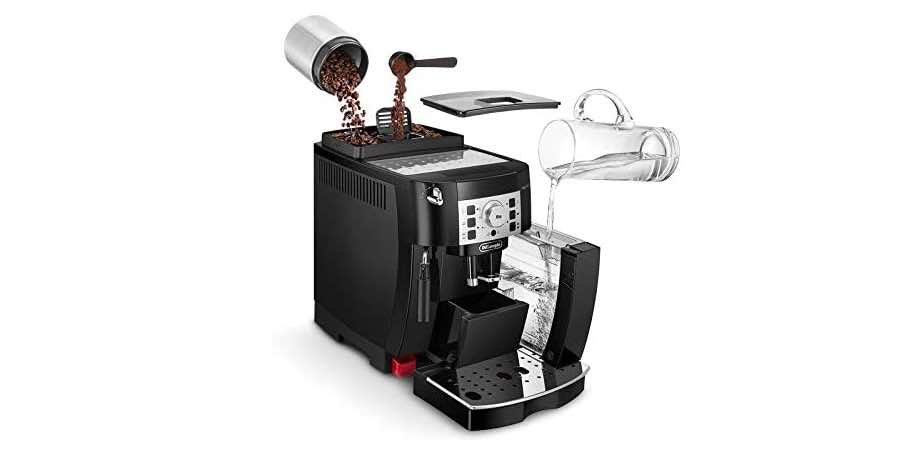 cafetera automatica con molinillo, amazon cafeteras delonghi, anuncio cafetera delonghi
