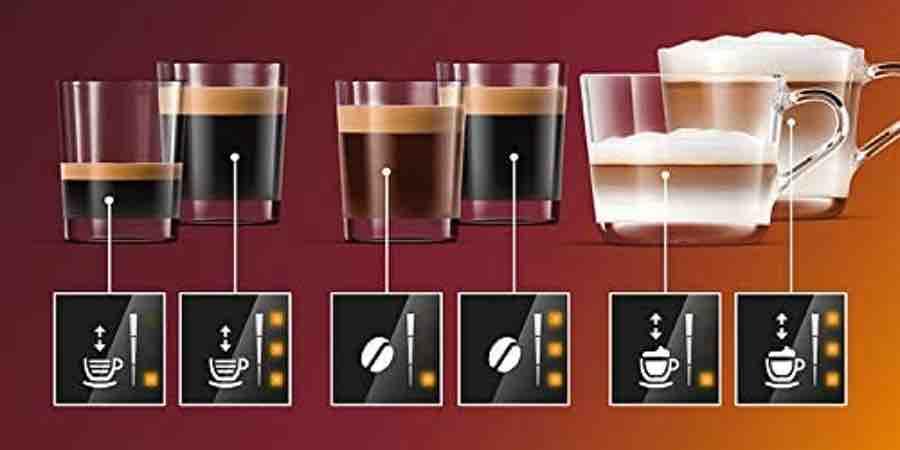 Tipos de café con una cafetera superautomática el Corte Inglés, corte ingles cafeteras automáticas