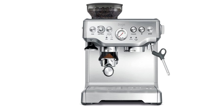 Comprar cafetera automatica Sage SES875