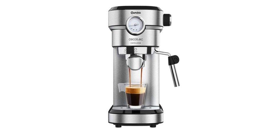 Comprar cefetera automatica Cecotec Cafelizza 790 Steel Pro, el corte inglés cafeteras superautomaticas